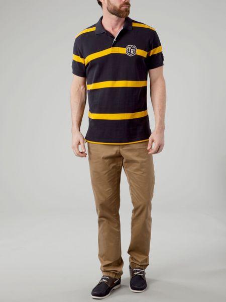 Tommy Hilfiger Striped Polo Shirt Tommy Hilfiger Adam Stripe