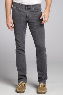 Zegna Z Zegna Grey Denim Straight Leg Jeans - Lyst