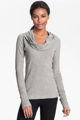 Zella All Shirred Up Pullover - Lyst