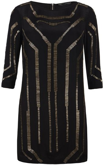 AllSaints Quake Dress - Lyst