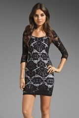 Free People Seamless Medallion Lace Slip Dress - Lyst