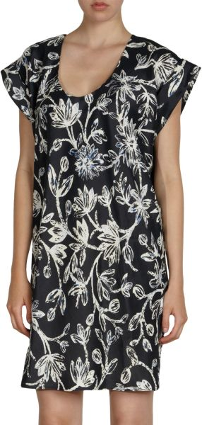 Balenciaga Iris Tunic Dress in Black