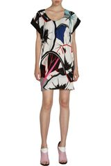 Balenciaga Celestial Dress in Multicolor (multi) - Lyst