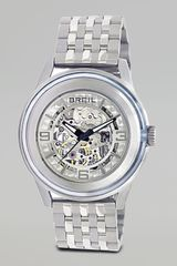 Breil Orchestra Automatic Skeleton Watch - Lyst