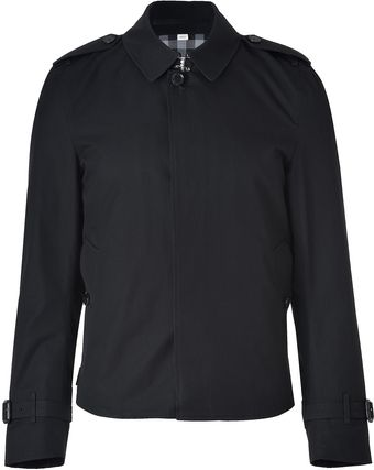 Burberry  Cotton Gabardine Beaton Jacket - Lyst