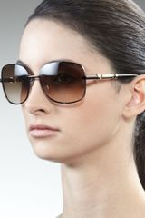 Givenchy Logoarm Metal Sunglasses - Lyst