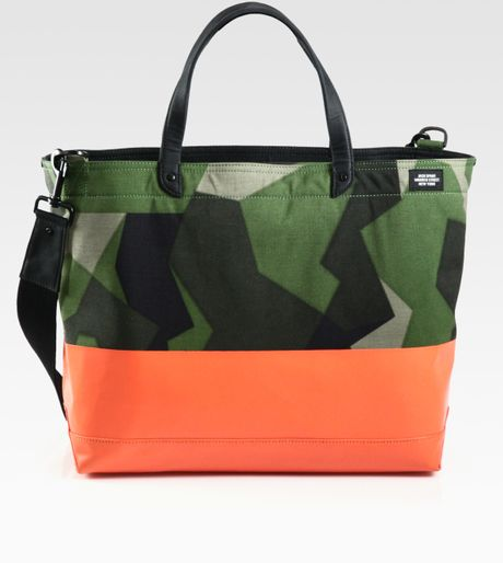 Jack Spade Dipped Coal Bag In Green For Men Lyst