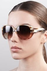 Marc Jacobs Multicolor Round Sunglasses   - Lyst