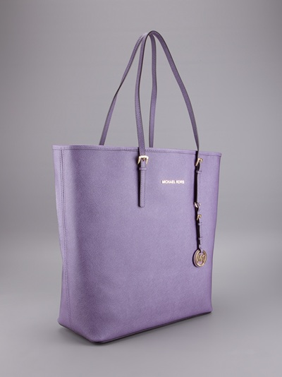Michael Kors Tote Bag in Purple - Lyst 817095c0d3832