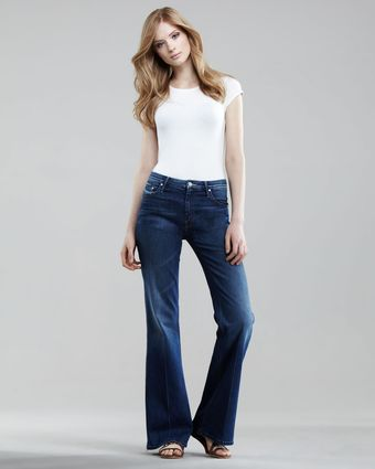 Mother Denim The Mellow Drama Flare Jeans - Lyst