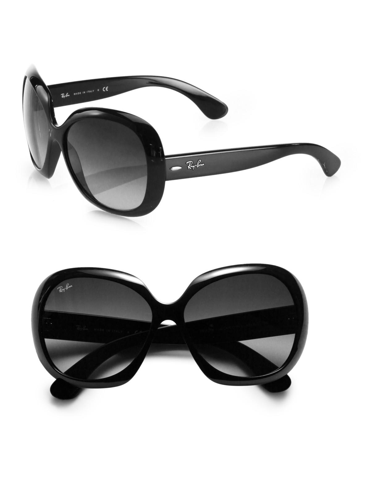 512556c5865e0 Ray-Ban Women s Vintage Oversized Round Jackie Ohh Sunglasses ...