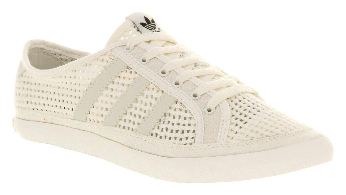 new arrival 7e03d 27c18 Lyst - adidas Adria Low Sleek White Vapour in White