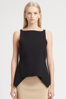 Alexander Wang Cropped Peplum Top - Lyst