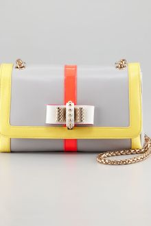 Christian Louboutin Sweet Charity Fluorescent Shoulder Bag - Lyst