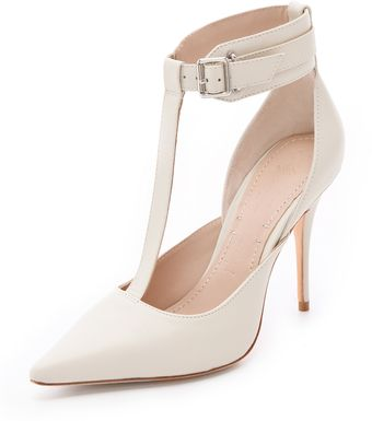 Elizabeth And James Saucy Ankle Cuff Pumps - Lyst
