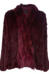 Elizabeth And James Rabbit Fur Coat