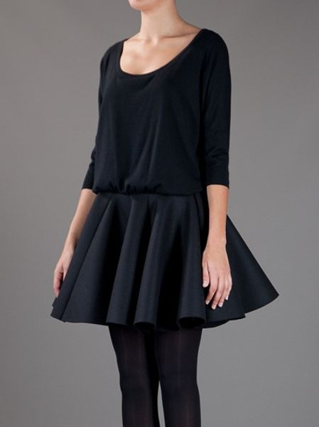 Jay Ahr Pleated Tutu Dress In Black Lyst