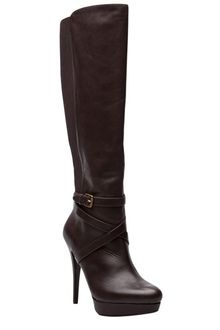 Michael Kors High Heel Criss Cross Boot - Lyst