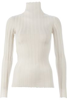 Mus Ribbed Turtle Neck Sweater - Lyst