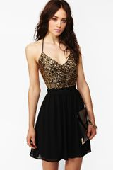 Nasty Gal Golden Hour Sequin Dress - Lyst