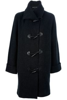 Ralph Lauren Black Label Boxy Duffle Coat - Lyst