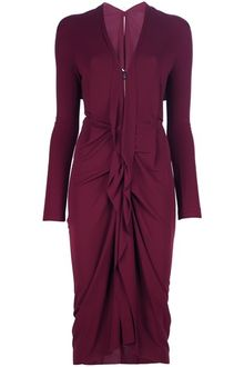 Roland Mouret Ruffle Waterfall Dress - Lyst