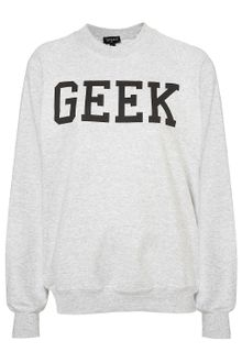 Topshop Geek Sweat - Lyst