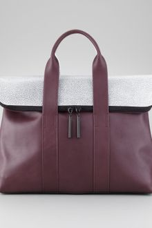 3.1 Phillip Lim Colorblock 31hour Bag - Lyst