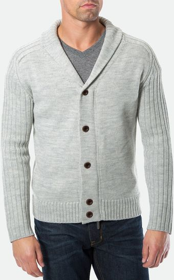 7 Diamonds Monte Christo Shawl Collar Cardigan - Lyst