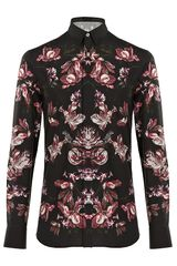 Alexander Mcqueen Graphic Floral Shirt in Floral for Men - Lyst