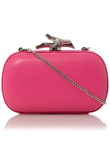 Diane Von Furstenberg Small Leather Lytton Clutch Bag - Lyst