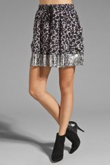 Marc By Marc Jacobs Resort Exeter Print Skirt - Lyst
