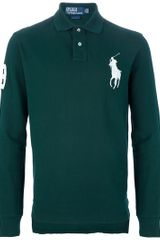 Ralph Lauren Blue Label Longsleeved Polo Shirt - Lyst