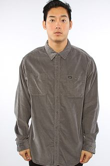 RVCA The Waller Buttondown in Pavement - Lyst