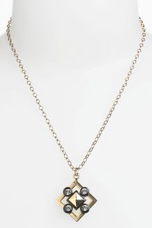 Tory Burch Pendant Necklace - Lyst