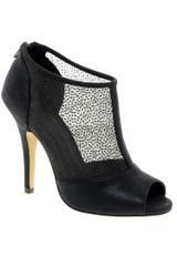 Asos Asos Twilight Peep Toe Shoe Boots - Lyst