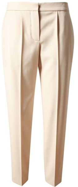 Chloé Tailored Virgin Wool Trousers - Lyst
