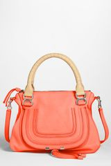 Chloé Marcie Small Leather Satchel - Lyst