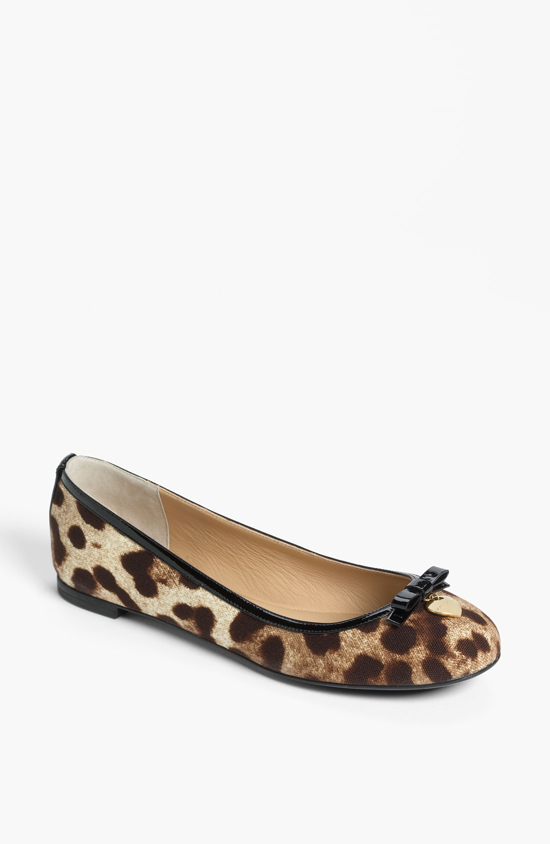 Womens Flat Leopard Shoes