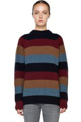 Marc Jacobs Striped Sweater in Multi - Lyst