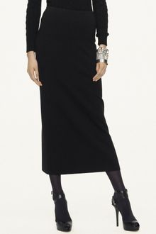 Ralph Lauren Black Label Merino Woolblend Long Skirt - Lyst