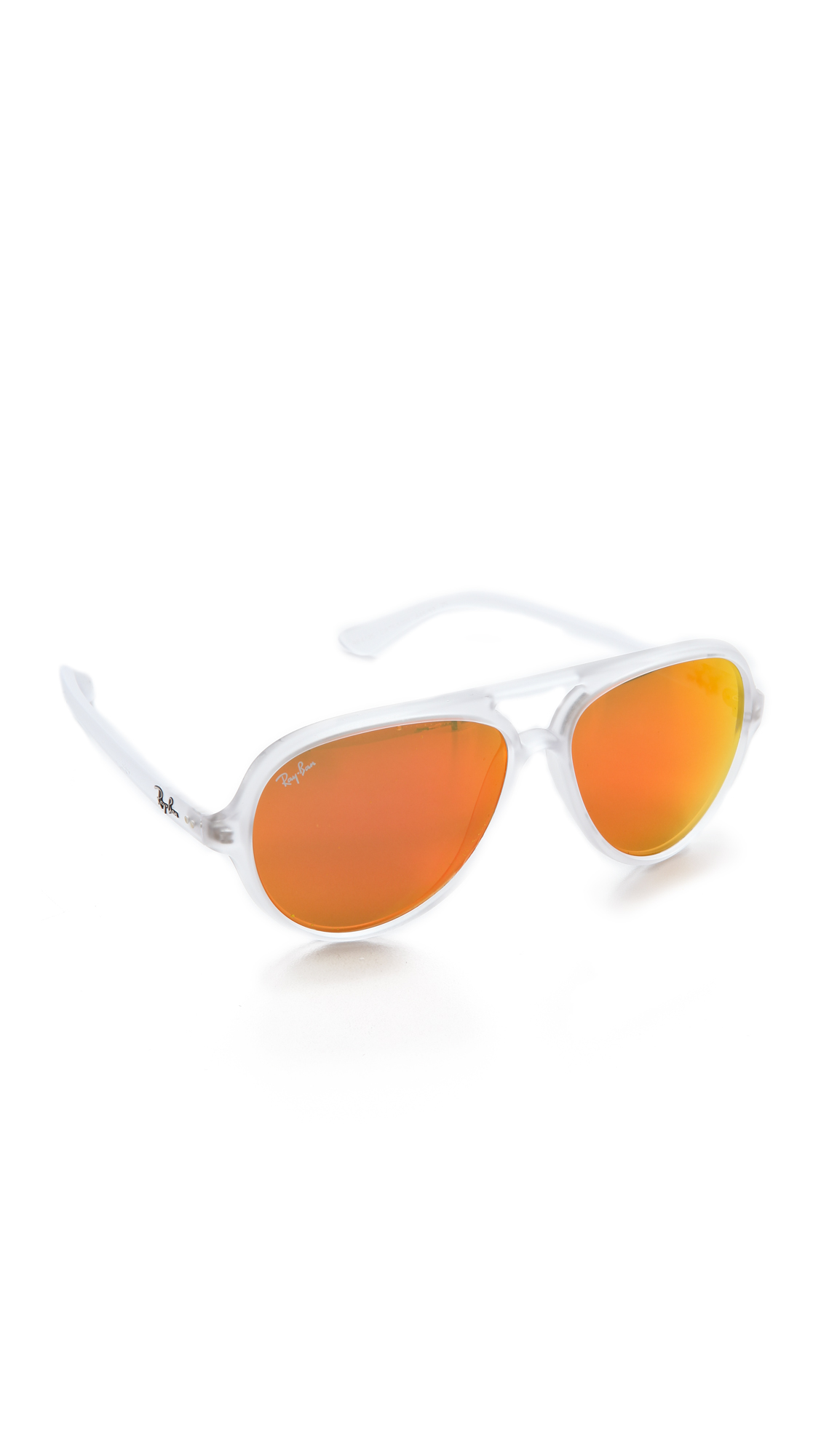 mirrored aviator sunglasses ray ban w45r  Gallery Previously sold at: Shopbop 路 Women's Mirrored Sunglasses