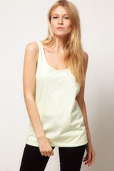ASOS Collection Asos Vest Tunic with Scooped Out Back - Lyst