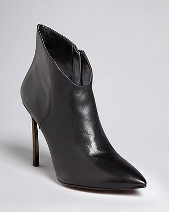 Enzo Angiolini Pointed Toe Dress Booties Imbra High Heel - Lyst