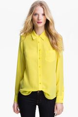 Equipment Brett Silk Top - Lyst
