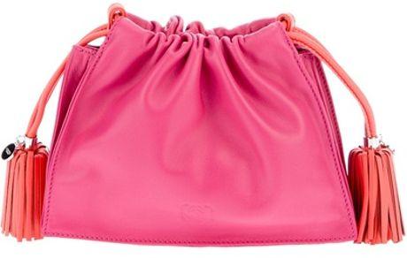 Loewe Clutch Bag in Pink