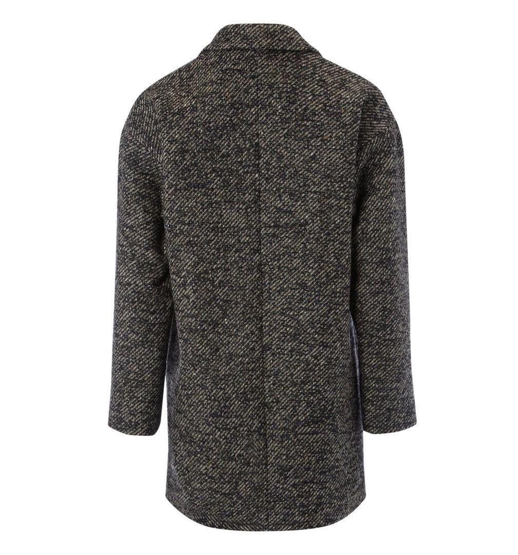 Nw3 By Hobbs Birch Tweed Coat In Black Lyst