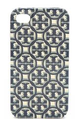 Tory Burch Logo Lattice Hardshell Iphone Case - Lyst