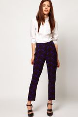 ASOS Collection Asos Trouser in Art Nouveau Print - Lyst