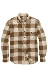 French Connection Bushcraft Twill Shirt in Brown for Men (beech) - Lyst